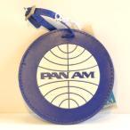 パンナム スーツケースタグ ラゲージタグ ネームタグ ダークブルー Pan Am Luggage Tag Vintage PanAm Blue 36SP10