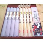 三春素麺・蕎麦(そば・ソバ)詰合せ 各4把 つゆ付