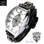Deep Zone メンズ腕時計 ジルコニアトノーフェイス 国産製