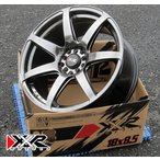 XXR 560 18インチホイール4本セット 18×8.5J +35 PCD114.3-5H/100-5H Chromium Black スタンス ヘラフラ USホイール 本数限定!! 新品 4本set!!