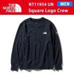 19SS ノースフェイス SQUARE LOGO CREW スクエアロゴ クルー NT11954 カラーUN THE NORTH FACE
