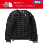 18FW ノースフェイス  メンズ THUNDER ROUNDNECK JACKET サンダーラウンドネックジャケット NY81813 カラーK THE NORTH FACE 正規品