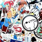 タンタンの冒険 タンタンのぼうけん タンタン ドナルド 人気海外漫画 シール ステッカーボム デカール ステッカー25枚