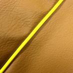 日本製 カスタム シートカバー レッツ(CA1PA)中タンク 黄土色/黄色パイピング  張替 純正シート 対応