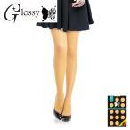 41色カラータイツ / 80デニール イエロートーンカラー / ハニーレモン (OA-437B) (ゆうパケット対応)