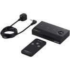 iBUFFALO HDMI切替器 3台用 リモコン付 ケーブルを付け替える必要なく、簡単に切替ができる ブラック BSAK302[送料無料]