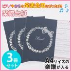 楽譜ファイル(厚紙タイプ) りぼん練習用にも発表会や演奏会にも使えて人気!