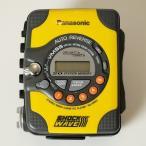 【中古】Panasonic【パナソニック】海外買い付け・直輸入SHOCKWAVE・ショックウェーブカセットプレイヤーイエローxグレー SW20