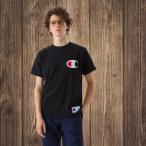 チャンピオン Champion  半袖Tシャツ ビッグロゴ刺繍 18SS アクションスタイル アメカジ  メンズ レディース(C3-F362)