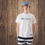 チャンピオン Champion  半袖Tシャツ ロゴ刺繍 18SS 春夏新作 アクションスタイル アメカジ  メンズ レディース(C3-H371)
