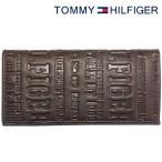 ショッピングトミー トミーヒルフィガー 財布 TOMMY HILFIGER 長財布 メンズ ダークブラウン 31TL19X018-200 0092 5645 02