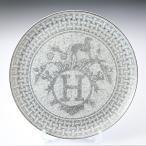 エルメス HERMES モザイク タルトプラッター プラチナ 035022P 32cm タルト皿 プレート