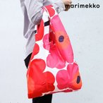 マリメッコ Marimekko バッグ エコバッグ 買い物袋 SMARTBAG PIENI UNIKKO ピエニウニッコ レッド 40470 001