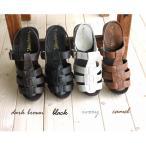 ショッピングブーツサンダル 送料無料♪天然木材を使用したバックベルトサボサンダル♪