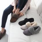 ショッピングサボ サボサンダル レディース ファー フェイクファー 裏起毛 あったか ファッション 靴 婦人靴