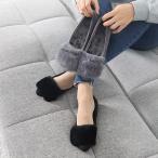 ショッピングフラット フラットパンプス レディース ペタンコ フラットシューズ スエード調 2017 秋 冬 ファッション 靴 婦人靴