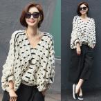 40代 ファッション 秋冬 ニット トップス セーター ゆったり ビッグシルエット 50代 女性 婦人服 通販