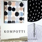 単品 ファブリックパネル アリス marimekko KOMPOTTI 40×40cm 単品販売 マリメッコ コンポッティ ファブリックボード