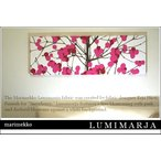 ファブリックパネル アリス marimekko LUMIMARJAPINK LUMIMARJAGREEN 90×30cm 各カラー有 ピンク グリーン マリメッコ おすすめ 軽量厚型 ルミマルヤ LUMIMARJA