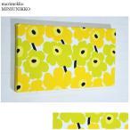 単品 ファブリックパネル アリス marimekko miniunikko 40×22cm 単品販売 イエロー 黄色 マリメッコ ミニウニッコ 壁掛けインテリア オシャレインテリア