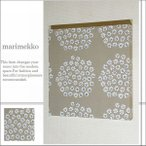 単品 ファブリックパネル アリス marimekko PUKETTI 30×30cm 単品販売 ベージュ マリメッコ プケッティ 花束 マリメッコインテリア 北欧 ファブリックボード