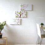 marimekko/LUMIMARJA/各カラー有/ルミマルヤ/北欧インテリアパネル/40×22/3枚セット/marimekkoファブリックパネル/壁掛けパネル/雪いちご