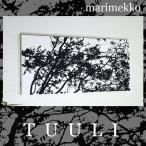 ファブリックパネル アリス marimekko TUULIu 90×40cm マリメッコ トゥーリ ブラック 北欧 おしゃれ インテリア TUULI 軽量厚型