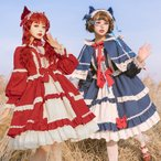Lolita ドレス ゆめかわいい フェミニン ゴスロリ グリム童話