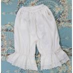 ロリィタ フリース 刺繍レース エレガント 姫 ルームパンツ