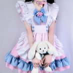 猫ちゃん ゆめかわいい ロリィタ メイド喫茶 コスプレ 衣装