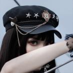 スタッズ チェーン付き ロリィタ Lolita コスプレ コスチューム