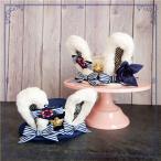 萌え ゆめかわいい ホワイト ブルー リボン 姫 へアドレス