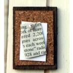 ミニチュアパーツ コルクボード ブラウン (ガーデニング/ミニチュア/雑貨/ インテリア アンティーク ミニチュア 家具 ガーデニング雑貨)  (アリスの時間