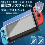 任天堂 スイッチ Switch ブルーライト カット ガラスフィルム 液晶 画面 保護フィルム 9H