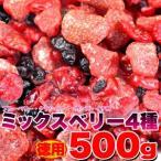 ショッピングわけ有 ミックスベリー 4種 500g 訳あり ランキング 激安 ドライフルーツ ストロベリー イチゴ いちご 苺 ブルーベリー カシス クランベリー わけあり 訳有