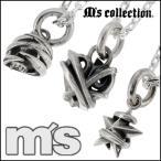 Ms collection ネックレス メンズ ブランド シルバー テンタクルス チャーム シルバー925 ペンダント チェーン付 エムズコレクション