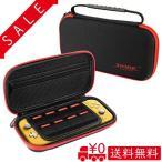 Molyhood Switch Lite ケース スイッチライト専用バッグ 8枚カード入れ 軽量 防塵 防水 耐衝撃 大容量