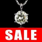 ショッピングネックレス ネックレス ダイヤモンド 一粒 ネックレス シルバー  1.0カラット