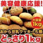 訳あり スイーツ お菓子 お買得 ほろっと柔らか,ヘルシー&DIET応援,新感覚満腹 おから豆乳ソフトクッキー1kg