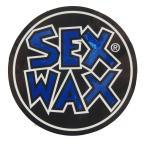 アーリーウープで買える「セックスワックス SEXWAX/SEX WAX NEW サークル ステッカー 5cm ( メタリックブルー ステッカー」の画像です。価格は108円になります。