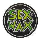 アーリーウープで買える「セックスワックス SEXWAX/SEX WAX NEW サークル ステッカー 5cm ( グリーンフェード ステッカー」の画像です。価格は108円になります。