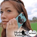 Yahoo!オルフィーiPhone5s ケース Candy Blood 高級 ハンドメイド 本革 レザー ブランド fat heart