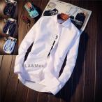 白シャツ メンズ シャツ カジュアルシャツ 長袖 スリムシャツ ワイシャツ 無地シャツ トップス 秋冬 お兄系 セール