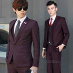スーツ メンズ スーツセットアップ 2点セットアップ 細身 紳士 入学式 結婚式 二次会 卒業式 テーラード 新生活
