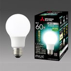 ☆三菱 LED電球 ミライエ 密閉器具対応 調光器対応形 一般電球形 全方向タイプ(220度) E26口金 昼白色 白熱電球60W形相当 LDA8N-G/60/D/S-A