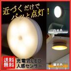 人感センサーライト LED 屋内 室内 USB充電