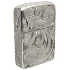 ハワイアンジュエリー / 銀無垢 スターリングシルバー 手彫りZIPPO