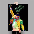 WSJIJY Canvas Print Freddie Mercury Queen Musician Art Poster Canvas Painting Wall Picture Home Decor Posters and Prints,As Sh..