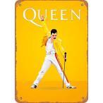 "EICOCO Rock Queen Freddie Mercury Plaque Poster Metal Tin Sign 8"" x 12"" Vintage Retro Wall Decor【並行輸入品】"