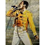 YuFeng Art Inn Modern Wall Poster Art Print Oil Painting on Canvas Home Decor Wall Decoration Canvas Art Freddie Mercury-Queen..